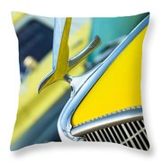 1935 Hudson Hood Ornament Throw Pillow