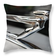 1936 Auburn Super Charger Flying Lady Hood Ornament Throw Pillow