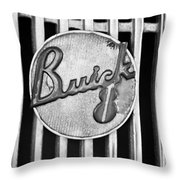 1936 Buick 8 Emblem Throw Pillow