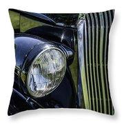 1936 Buick Vectoria Coupe Throw Pillow