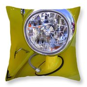 1936 Ford Pickup Headlamp Throw Pillow