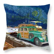 1936 Hispano Suiza Shooting Brake Throw Pillow