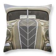 1936 Hudson Terraplane Truck Throw Pillow