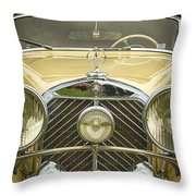 1936 Mercedes Benz Throw Pillow
