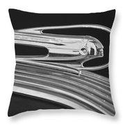 1936 Pontiac Hood Ornament 5 Throw Pillow by Jill Reger