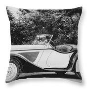 1937 Bmw Convertible Throw Pillow