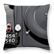1937 Bugatti Type 57c Ventoux Throw Pillow by Jill Reger