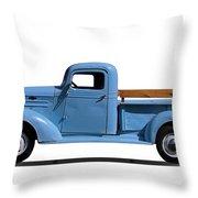 1937 Chevrolet Pickup Truck Throw Pillow