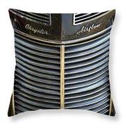 1937 Chrysler Airflow Throw Pillow