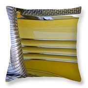 1937 Cord 812 Phaeton Hood Fender Throw Pillow