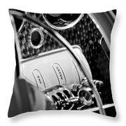 1937 Cord 812 Phaeton Steering Wheel Throw Pillow