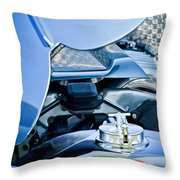 1937 Delahaye 115a Engine Throw Pillow