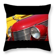 1937 Desoto Front-7262 Throw Pillow