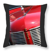1937 Desoto Front Grill Throw Pillow