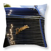 1937 Ford Model 78 Cabriolet Convertible By Darrin Throw Pillow