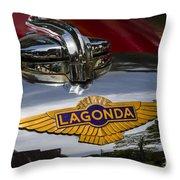 1937 Lagonda Throw Pillow