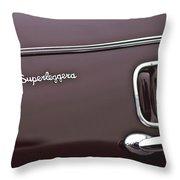 1938 Alfa Romeo 6c 2300 Touring Coupe Emblem Throw Pillow
