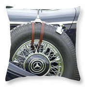 1938 Bentley Throw Pillow