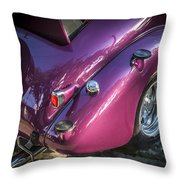 1938 Chevrolet Coupe With Rumble Seat Throw Pillow