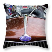 1938 Ford Roadster Throw Pillow