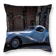 1938 Talbot Lago 150 - C  Teardrop Coupe Throw Pillow