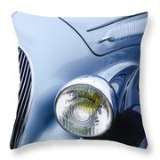 1938 Talbot-lago 150c Ss Figoni And Falaschi Cabriolet Headlight - Emblem Throw Pillow