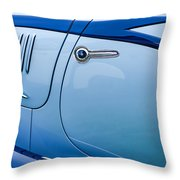 1938 Talbot-lago 150c Ss Figoni And Falaschi Cabriolet Side Door Handle Throw Pillow