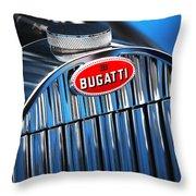1939 Bugatti Type 57c Throw Pillow