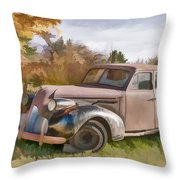 1939 Buick Special Throw Pillow