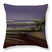 1939 Cadillac Hood Ornament Throw Pillow