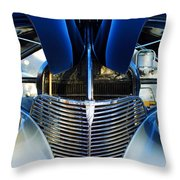 1939 Chevrolet Coupe Grille -115c Throw Pillow