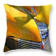 1939 Chevy Hood Throw Pillow