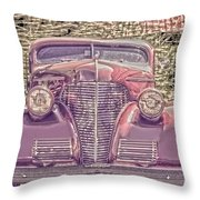 1939 Chevy Immenent Front Color Throw Pillow