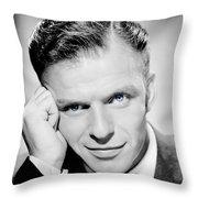 1940 - Frank Sinatra - Blue Eyes Throw Pillow