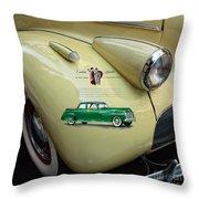 1940 Buick 41c Throw Pillow