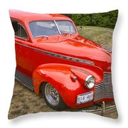 1940 Chevrolet 2 Door Sedan Throw Pillow