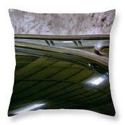 1940 Dodge Pickup Hood Ornament Throw Pillow