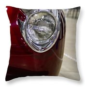 1940 Ford Front Left Light Throw Pillow
