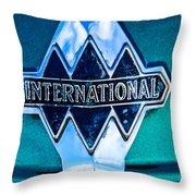 1940 International Emblem Throw Pillow