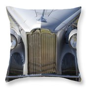 1940 Packard One-sixty Throw Pillow
