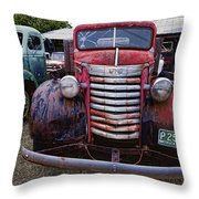 1940s G M C Truck Throw Pillow
