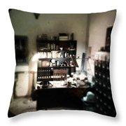 1940s Office Throw Pillow