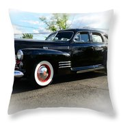 1941 Cadillac Coupe Throw Pillow by Paul Ward