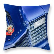 1941 Cadillac Emblem Throw Pillow