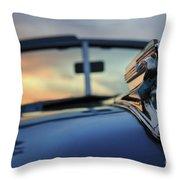 1941 Sunset Throw Pillow