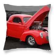 1941 Willys Throw Pillow