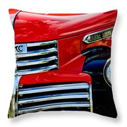 1942 Gmc  Pickup Truck Throw Pillow