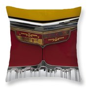 1946 Desoto Emblem Throw Pillow