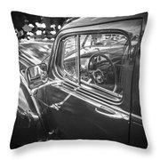 1946 Hudson Super Six Sedan Bw Throw Pillow