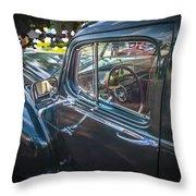 1946 Hudson Super Six Sedan  Throw Pillow
